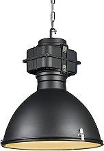 Lámpara colgante industrial negra 53cm - SICKO