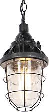 Lámpara colgante industrial negra - CABIN