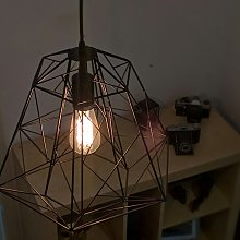 Lámpara colgante industrial negra - FRAMEWORK