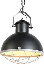 Lámpara colgante industrial negra /gris - ENGINE