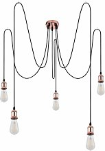 Lámpara colgante lámpara de techo filamento sala