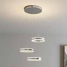 Lámpara colgante LED Lyani diferente altura