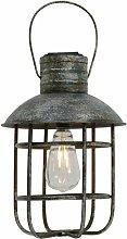 Lámpara colgante LED solar jaula de linterna de