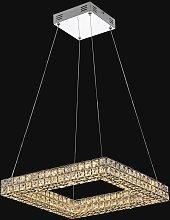 Lámpara colgante lujosa CRYSTAL LED