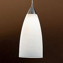 Lámpara colgante MADINA 15 cm, blanca