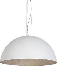Lámpara colgante moderna blanca 70cm - MAGNA