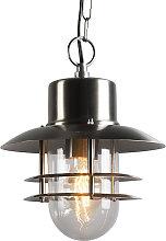 Lámpara colgante retro acero - SHELL