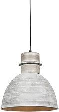 Lámpara colgante rústica gris - DORY