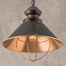 Lámpara colgante rústica Shanta, 1 bombilla