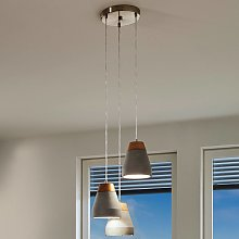 Lámpara colgante Tarega con diseño industrial