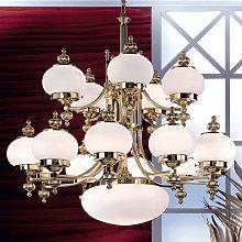 Lámpara de araña DELIA - 16 luces