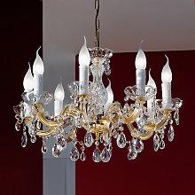 Lámpara de araña Dolores, 8 luces