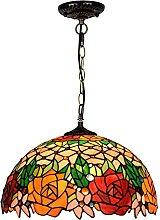 Lámpara De Araña Estilo Tiffany, Lámpara De