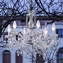 Lámpara de araña LED exterior Drylight S6, 6