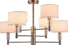 Lámpara de araña Lincoln 6 luces