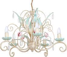 Lámpara de araña Luce, 5 luces