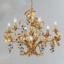 Lámpara de araña PIOGGIA D-Oro