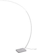 Lámpara de arco diseño blanca regulador LED -