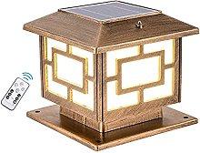 Lámpara de jardín al Aire Libre Regulable con