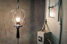 Lámpara de mano de diseño industrial