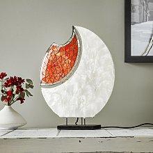 Lámpara de mesa adornada YOKO