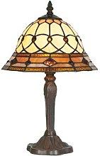 Lámpara de mesa ANTHEA en estilo Tiffany