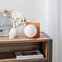 Lámpara de mesa Balance tumbada cobre satinado
