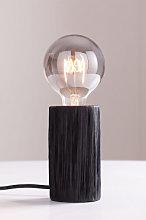 Lámpara de Mesa Benga Negro Sklum