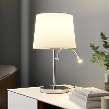 Lámpara de mesa Benjiro, lámpara de lectura LED
