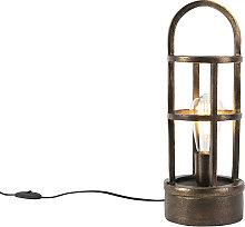 Lámpara de mesa bronce 41cm - KEVIE