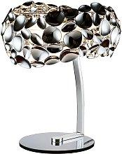 Lámpara de mesa cromo NARISA G9