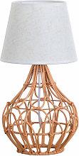 Lámpara de Mesa Dalai Color Miel 20x20x40cm