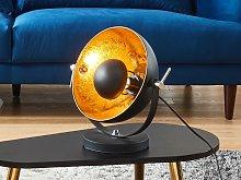 Lámpara de mesa de cine de estilo industrial