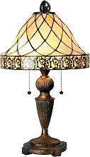 Lámpara de mesa Diamond de estilo Tiffany 62 cm