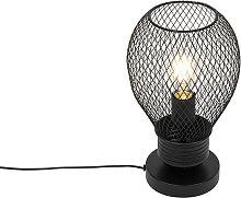 Lámpara de mesa diseño negra - RAGA