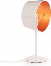 Lámpara de Mesa Duhl Oro Rosa Sklum