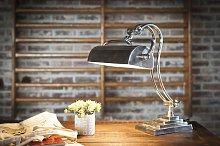 Lámpara de mesa Hedges