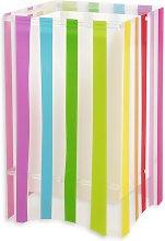 Lámpara de mesa infantil a rayas colorida Decoline