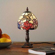 Lámpara de mesa Irena de estilo Tiffany