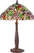 Lámpara de mesa KT9810+P927 de estilo Tiffany