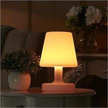 Lámpara de mesa LED exterior recargable, 3W,