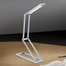 Lámpara de mesa LED Falto con batería. antracita