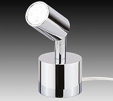 Lámpara de mesa LED Karen pequeña, minifoco 6,5 W