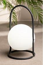 Lámpara de Mesa Led para Exterior Balum Gris Sklum