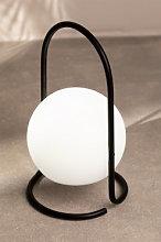 Lámpara de Mesa Led para Exterior Balum Negro