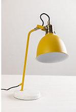 Lámpara de Mesa Louise Mostaza Sklum