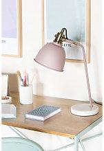 Lámpara de Mesa Louise Rosa Malva Pálido Sklum