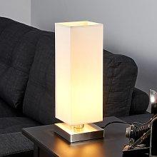 Lámpara de mesaMartje blanca con