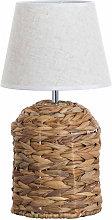 Lámpara de Mesa Maylin Natural 20x20x38cm