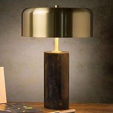 Lámpara de mesa Mirasol mármol negro